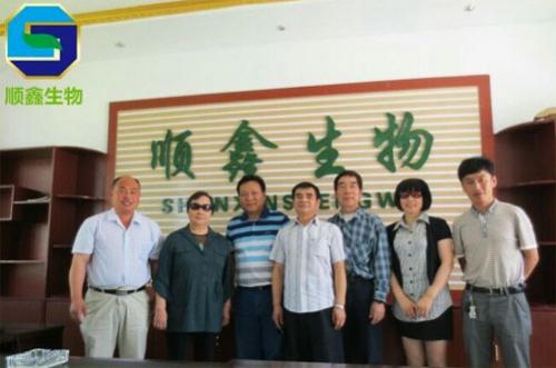 湖南省酿酒协会原会长与湖南德山酒业总经理等人前来我公司考察